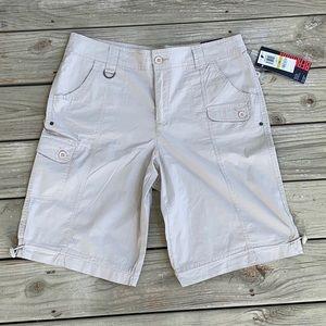 NWT Style & Co. Women Bermuda shorts beige Size 14